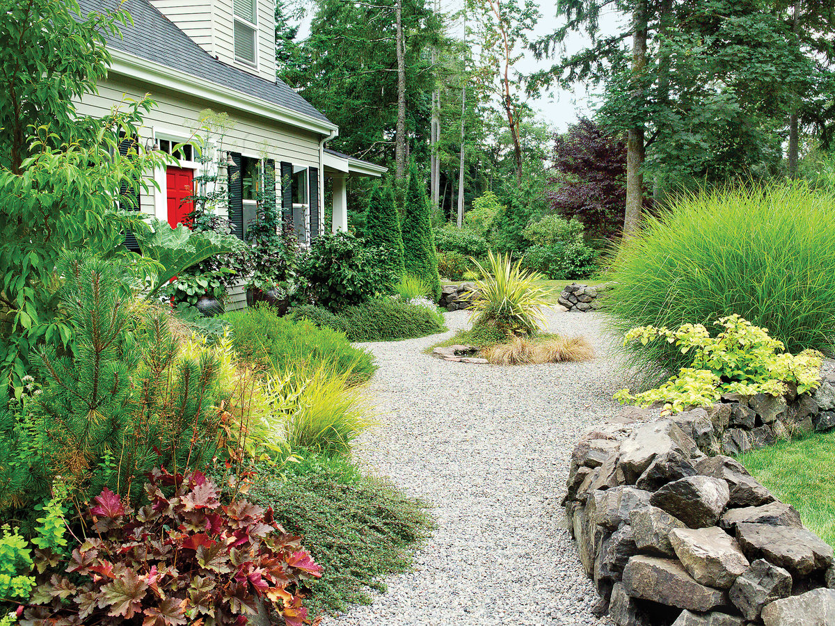 Landscaping With Gravel Sunset Magazine Sunset Magazine