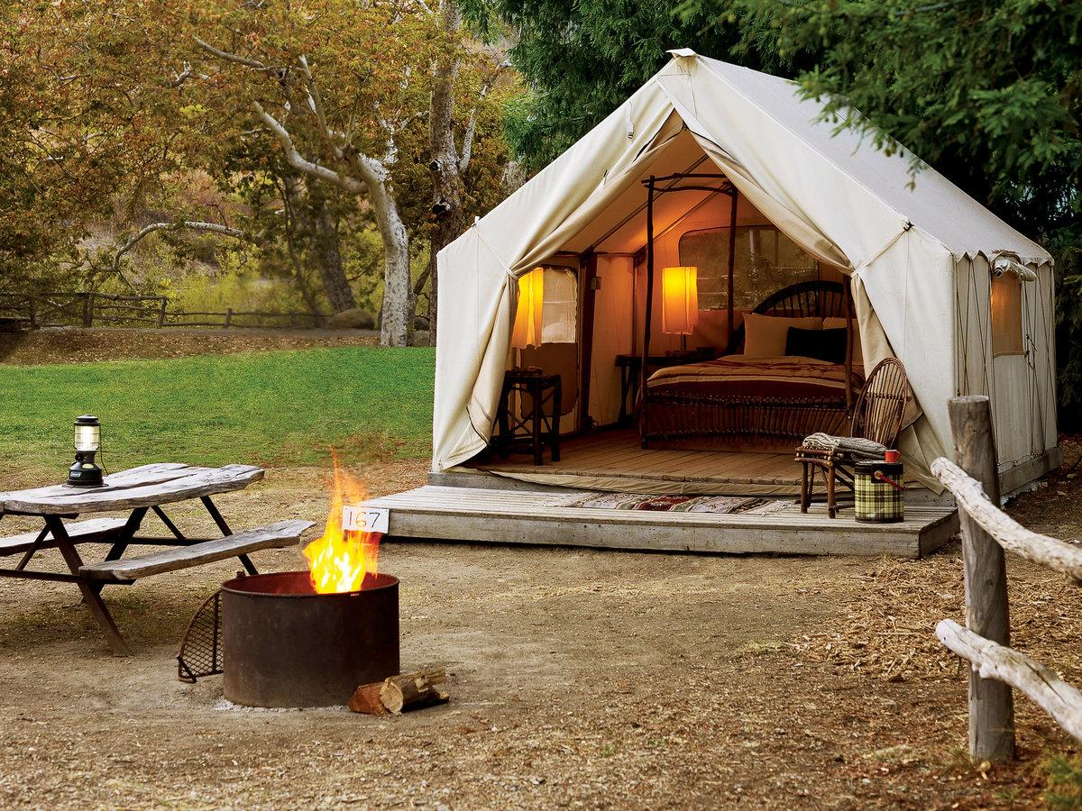 & Top Luxurious Campgrounds - Sunset Magazine - Sunset Magazine