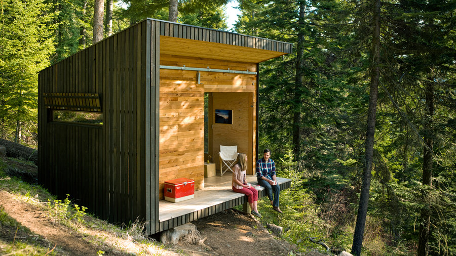 Tiny Cottage House Plans Diy Small Cabin Plans Diy Cabin: DIY Cabin In The Woods