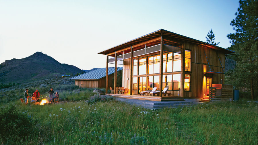 Tiny Home Designs: A Small Cabin Home That Lives Big