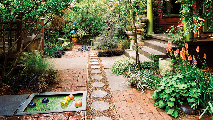 landscaping ideas for front yard playful front yard makeover sunset magazine sunset 28954