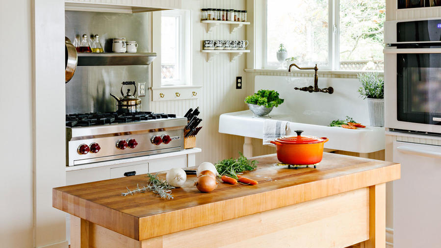Butchers Kitchen Menu : 10 Things You Need to Know About Butcher Block - Sunset Magazine - Sunset Magazine