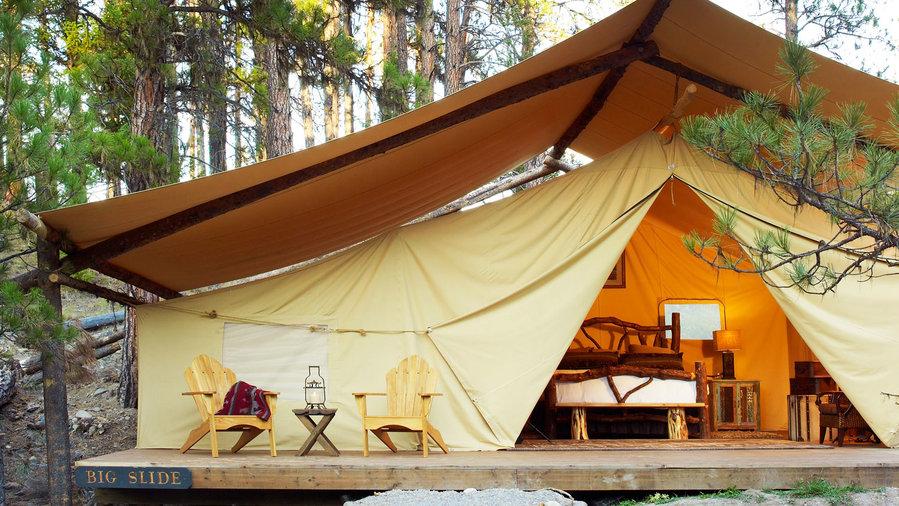 Get a massage in the wilderness & Top 26 Wilderness Experiences - Sunset Magazine - Sunset Magazine