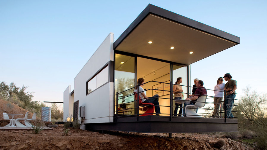14 ways to get a mid century modern look sunset magazine for Mid century modern modular homes