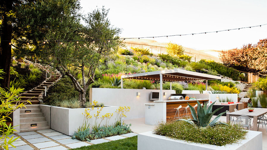 9 Ideas For A Hillside Garden Sunset Magazine Sunset